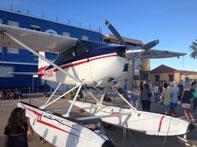Aniversario del hidro avión