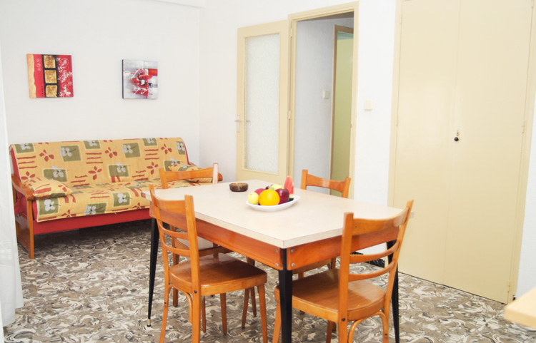 Salon comedor apartamento un dormitorio Apartamentos Margoysa 3