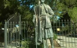 Monumento al Huertano en Los Alcázares